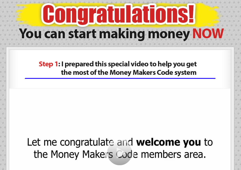 money makers code