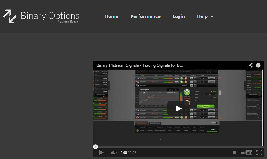 Binary options signals wiki