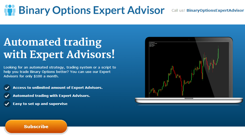 Trade with binary options experts