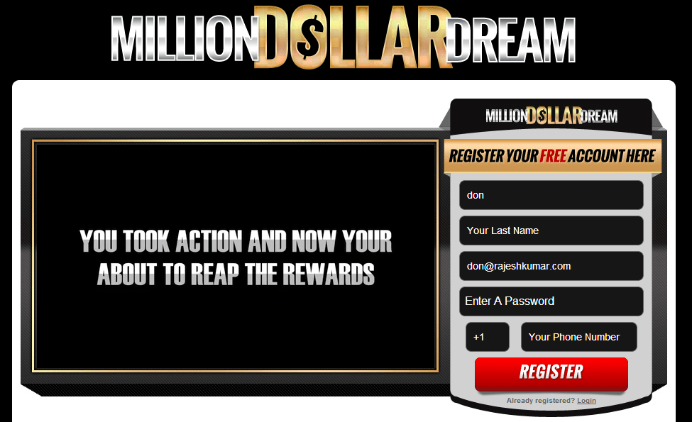 million dollar dream