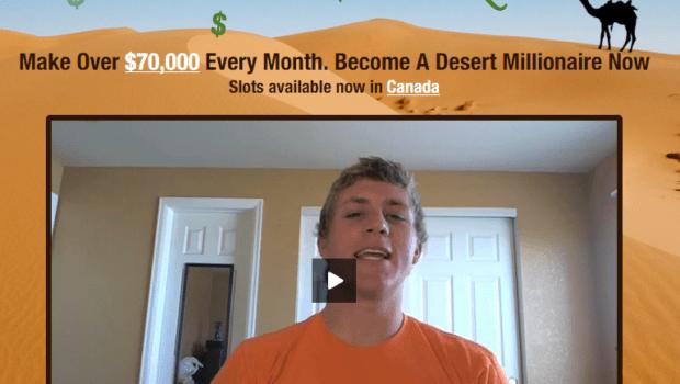 desert millionaire