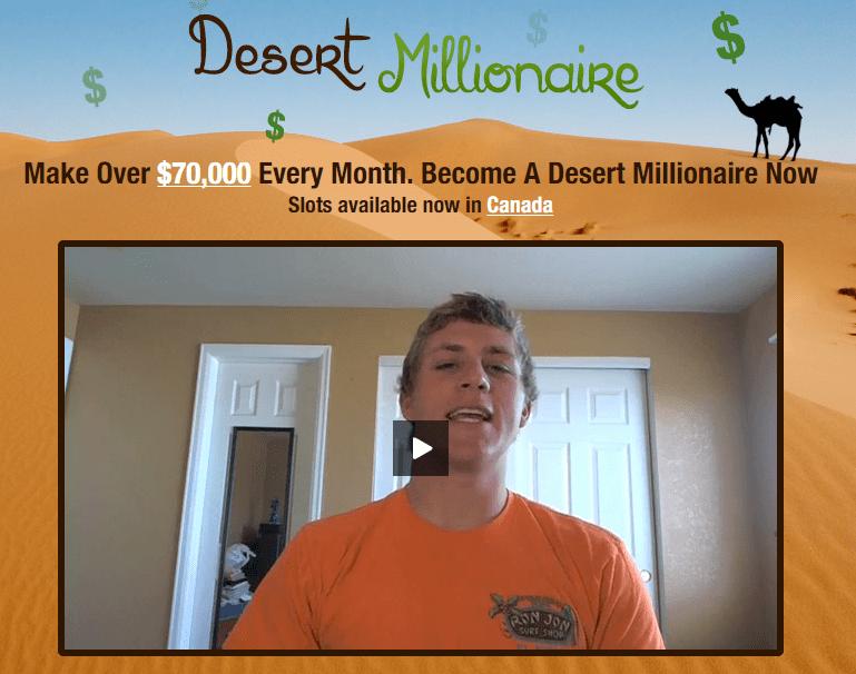 desert millionaire binary options