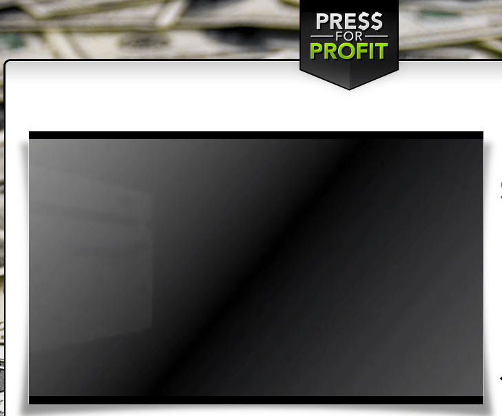 press for profit