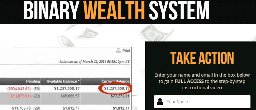 binary wealth system