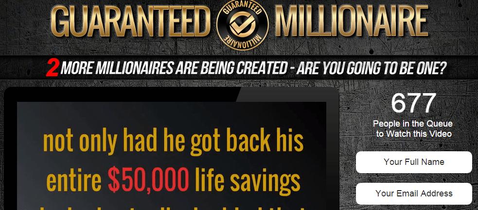 guaranteed millionaire