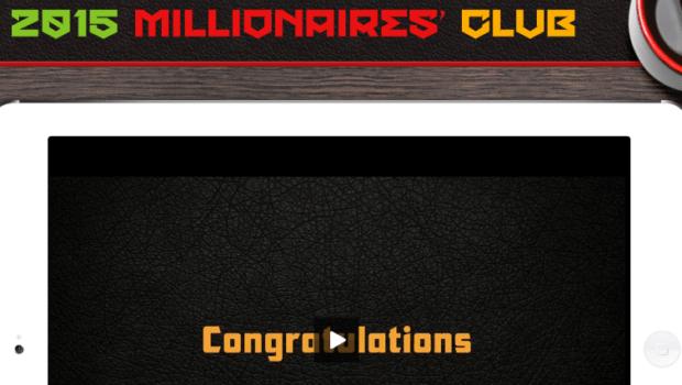 2015 millionaires club