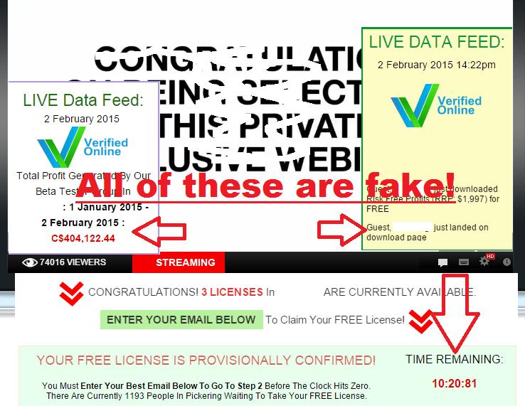 all fake