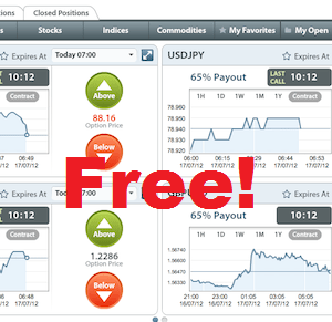 Binary options free trial account