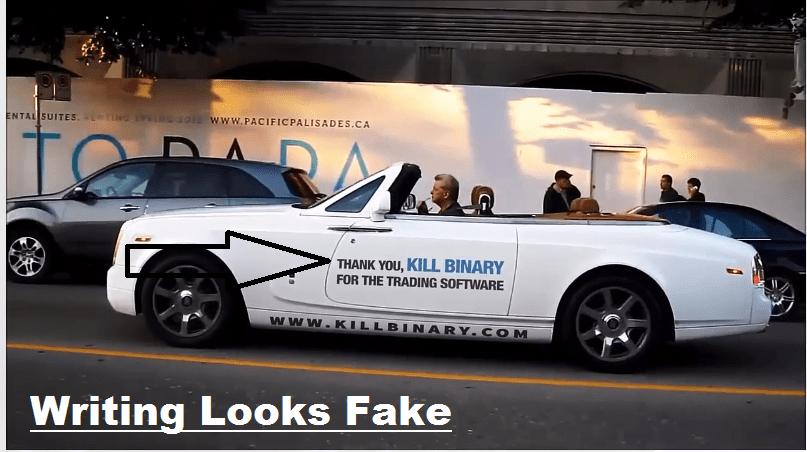 fake writing
