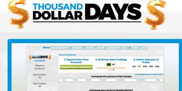 thousand dollar days