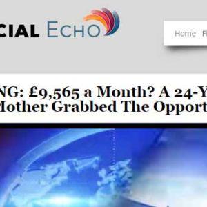 Echo options trading