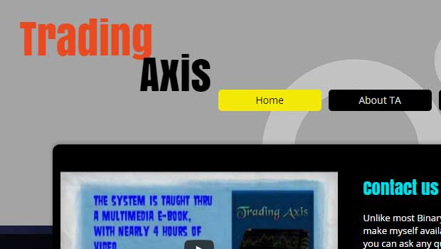 Trading axis system