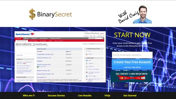 the binary options secret method