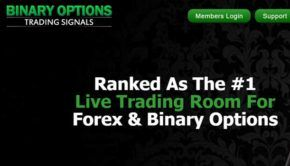 Binary option trade room