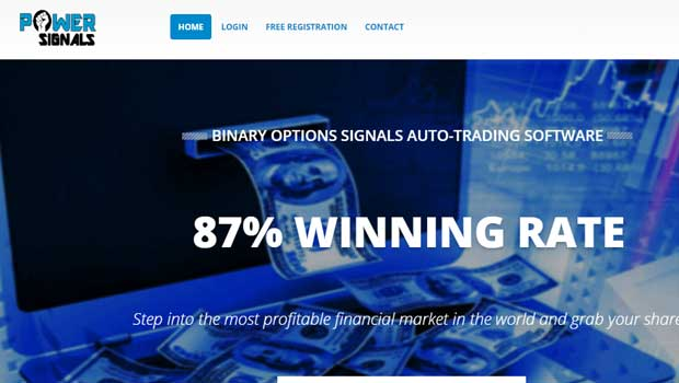 Binary options power signals review