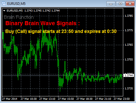binary brain wave signal