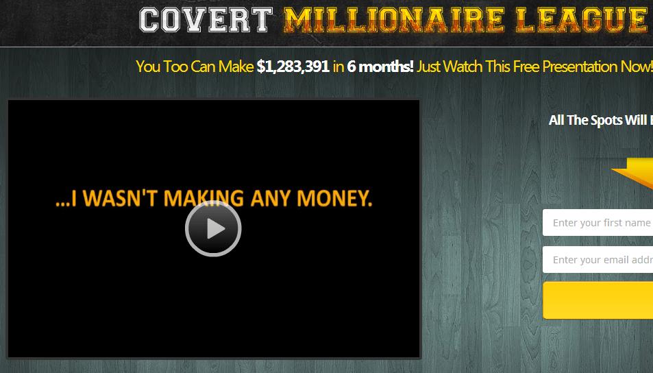 covert millionaire league