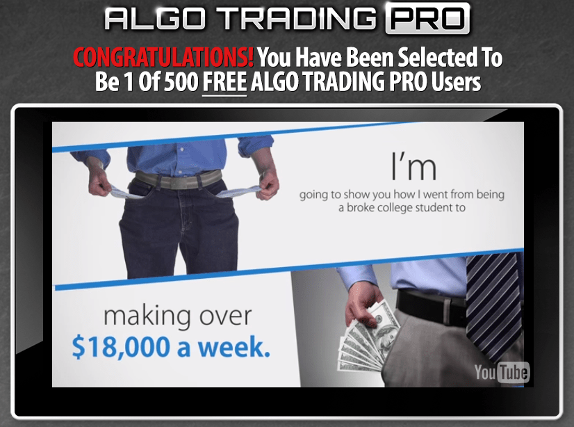 algo trading pro