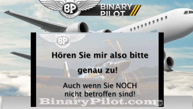 Binary options pilot