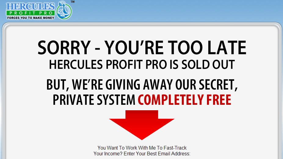 hercules profit pro