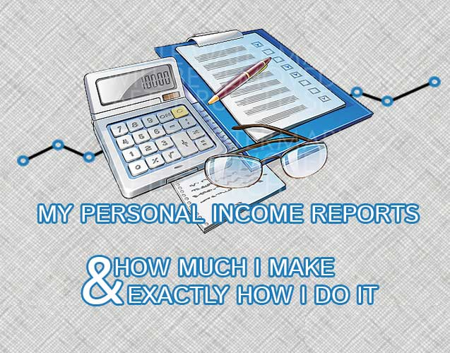My Monthly Income Reports | Binary Today