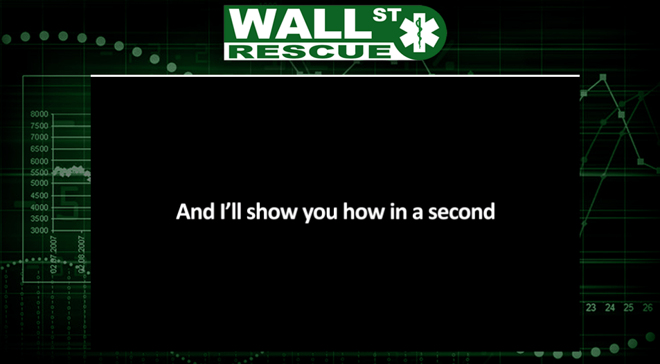 wall street rescue