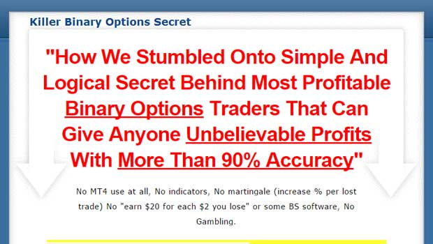 Killer binary options secret review