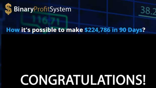 Binary option profit system