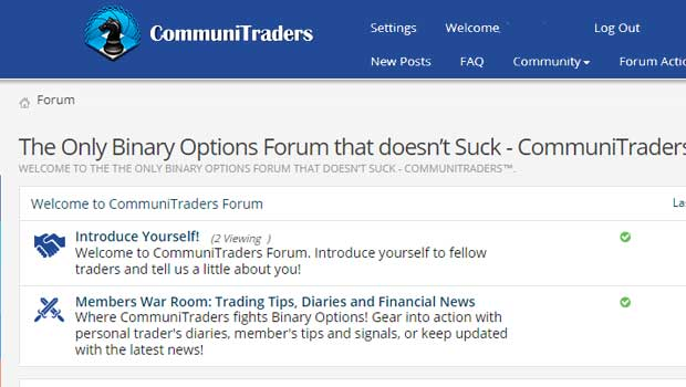 Binary options forum de