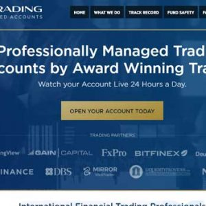 Managed binary trading accounts