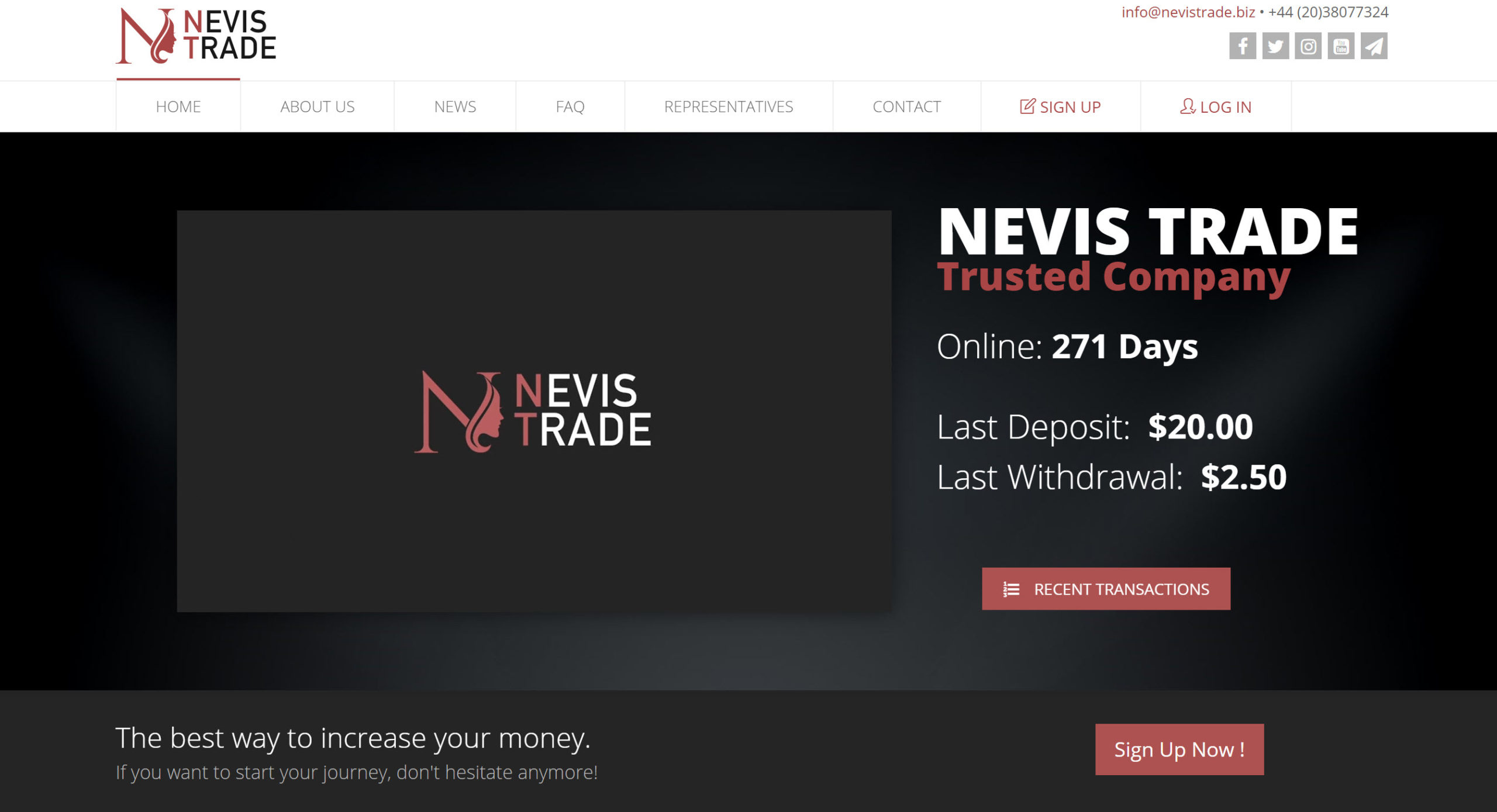 Nevis Trade