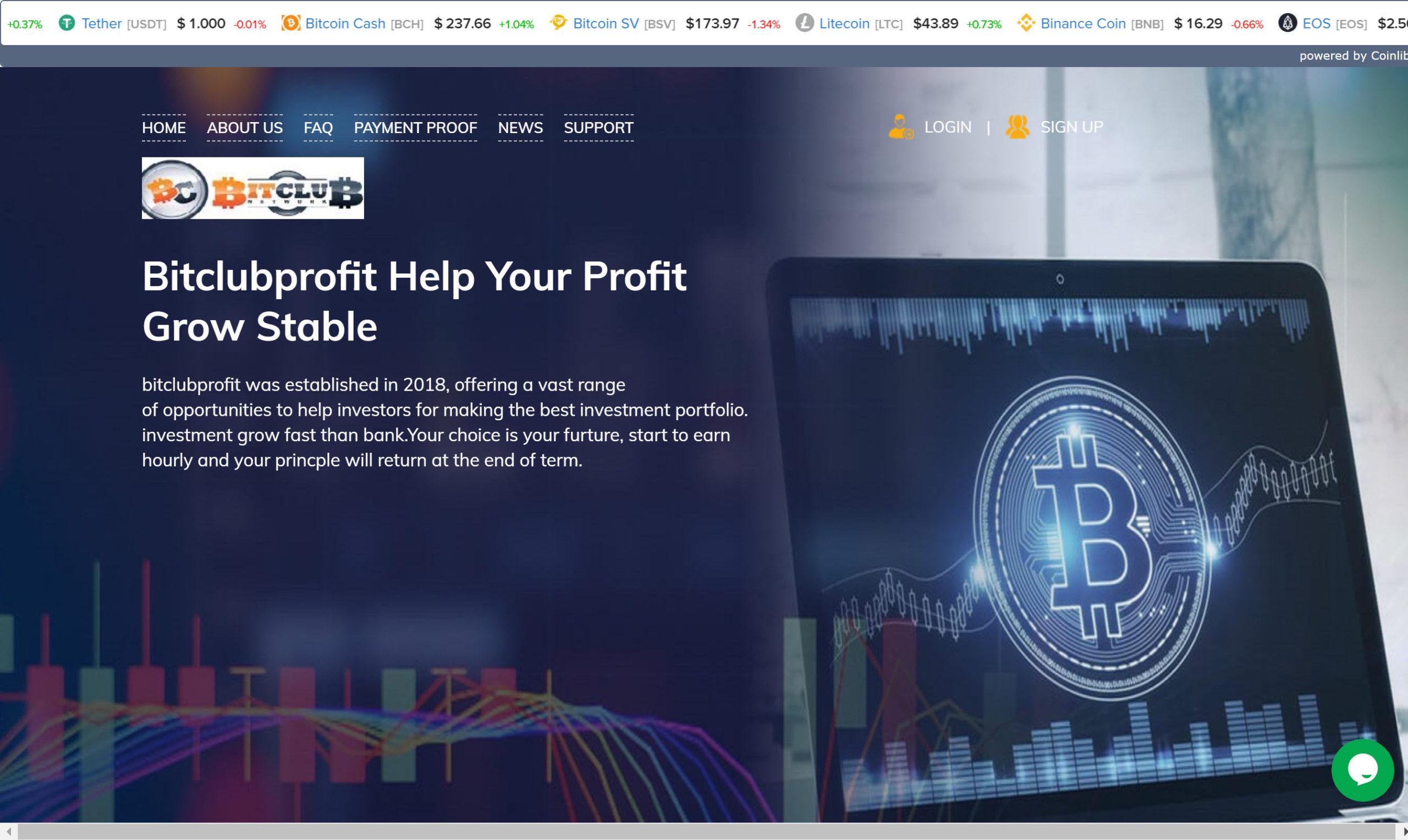 Bitclub Profit and Binary FX